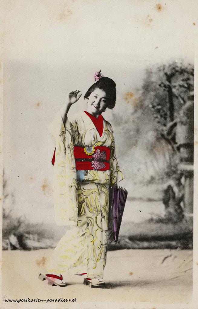 Japan, Frau 1904