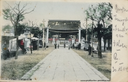 Japan Kobe Nanko Tempel 1904