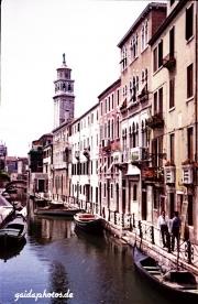 Venedig 1957 Kanal