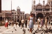 Venedig 1957 Markusplatz