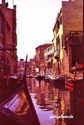 Venedig 1975 Kanal