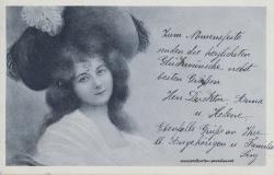 Namenstag, Frau, 1905
