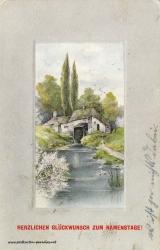 Namenstag, Ansicht, Mühle, 1914