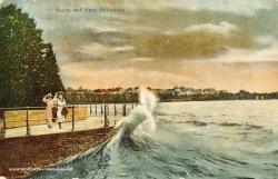 Kaiserzeit Österreich Ansichtskarte, Bodensee 1903