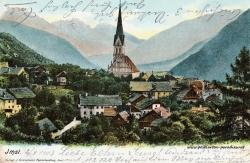 Kaiserzeit Österreich Ansichtskarte Imst 1903