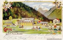 Kaiserzeit Österreich Ansichtskarte Plansee 1906