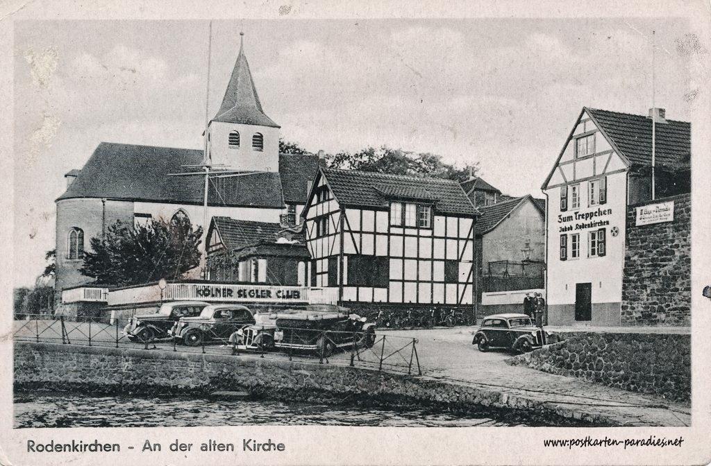 Ansichtskarte Köln-Rodenkirchen: Kapelle ca. 1930er