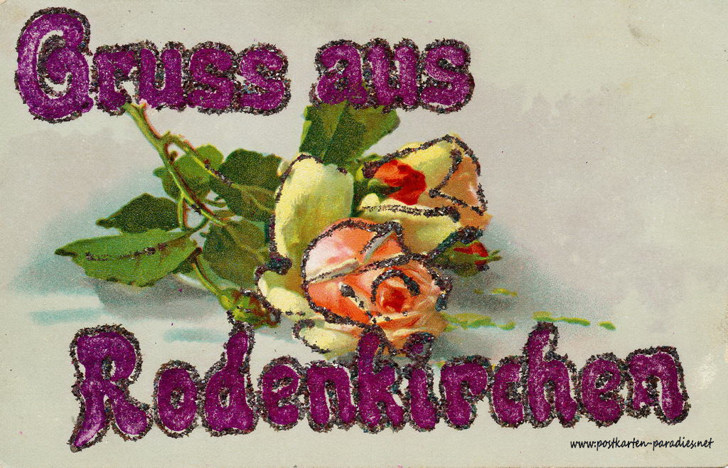 Ansichtskarte Köln-Rodenkirchen: 1918