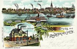 Ansichtskarte Köln-Rodenkirchen: 1914