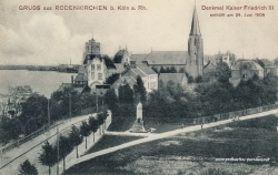 Ansichtskarte Köln-Rodenkirchen: Ortseingang 1906