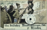 Postkarte München 1906