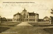 Postkarte München 1921