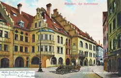Postkarte München 1905 Hofbräuhaus