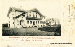 Postkarte München, 1901