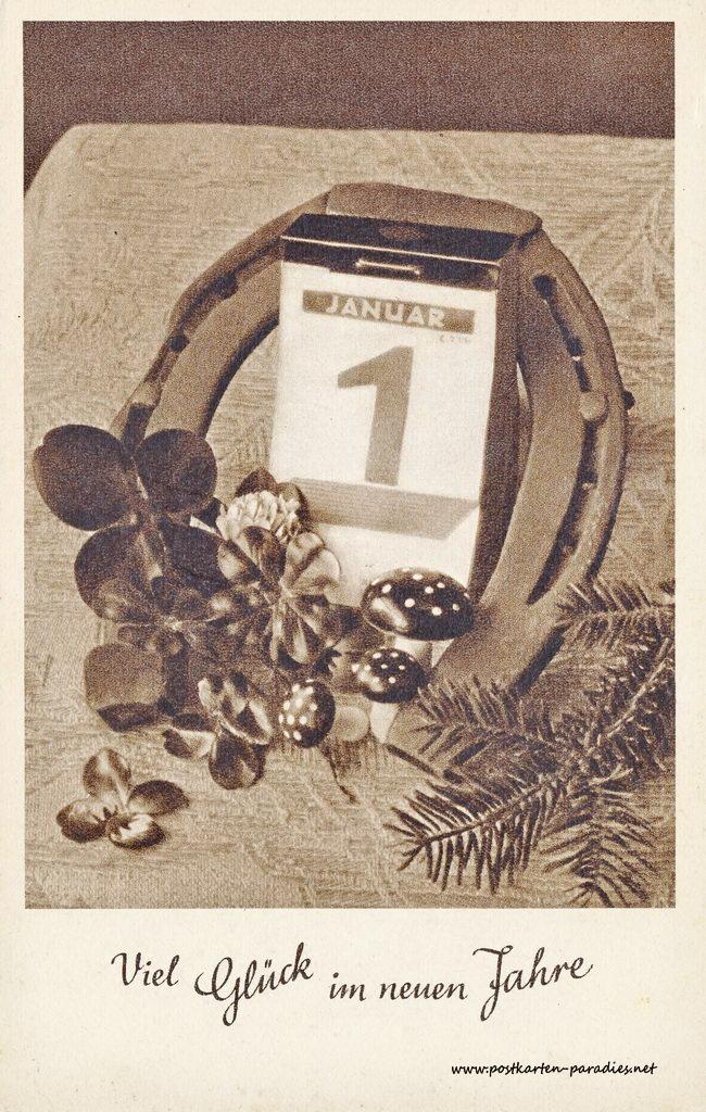 Neujahrskarte Archives - Alte Postkarten