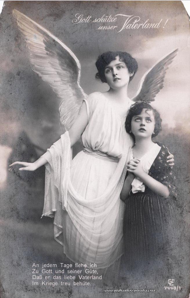 1. Weltkrieg, Vaterland, Engel, Kind, Gebet, Gedicht, 1916