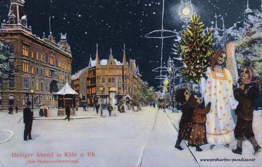 Weihnachtskarten aus k ln 1900 alte postkarten - Wwf weihnachtskarten ...