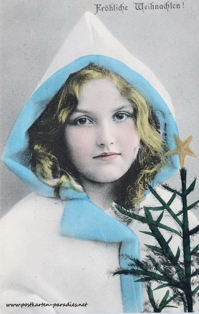Frau Weihnachten 1905