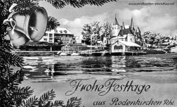 Weihnachtskarte Köln Rodenkirchen