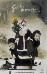 Weihnachtsmann Kinder 1902