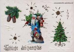 Weihnachtsmann, Christbaum