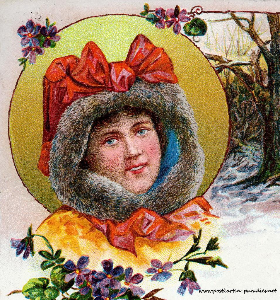 Weihnachtskarten von 1889 bis 1950 alte postkarten for Photoshop weihnachtskarte