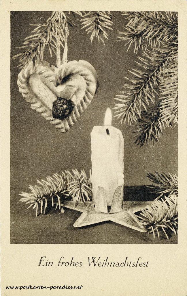 Weihnachtskarte Kriegsweihnacht 1941