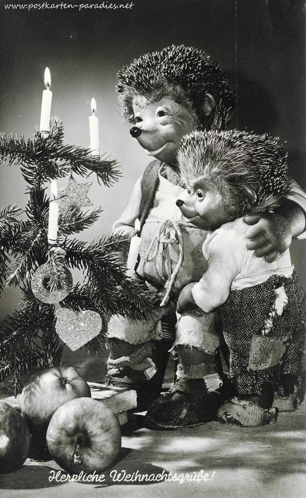 Weihnachten Mecki